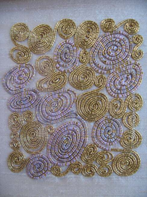 JUNE FIFORD: Damascened Gold Embroidery