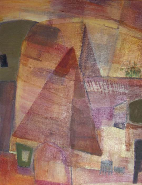 MAGGIE MACKENZIE: Elsewhere Medium: Acrylic on canvas Size: 40cm x 30cm 2014