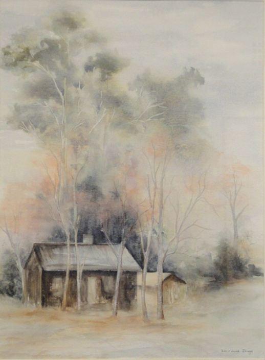LORRAINE DROGA: Katoomba landscape