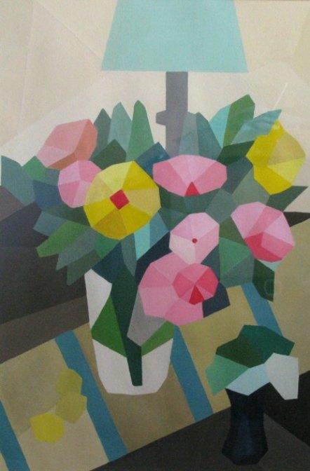 JOHN MARSH: Happy Anniversary Medium: Acrylic on paper Size: 55 x 37 cm 2016