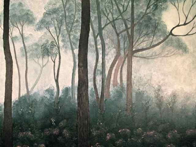 DIRK ROMEYN: Mist Medium: Acrylic Size: 82cm x 99cm 2011