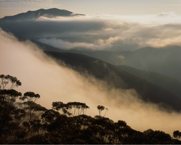 Ian Brown: The Clouds Parted, Gangerang Range, Photograph