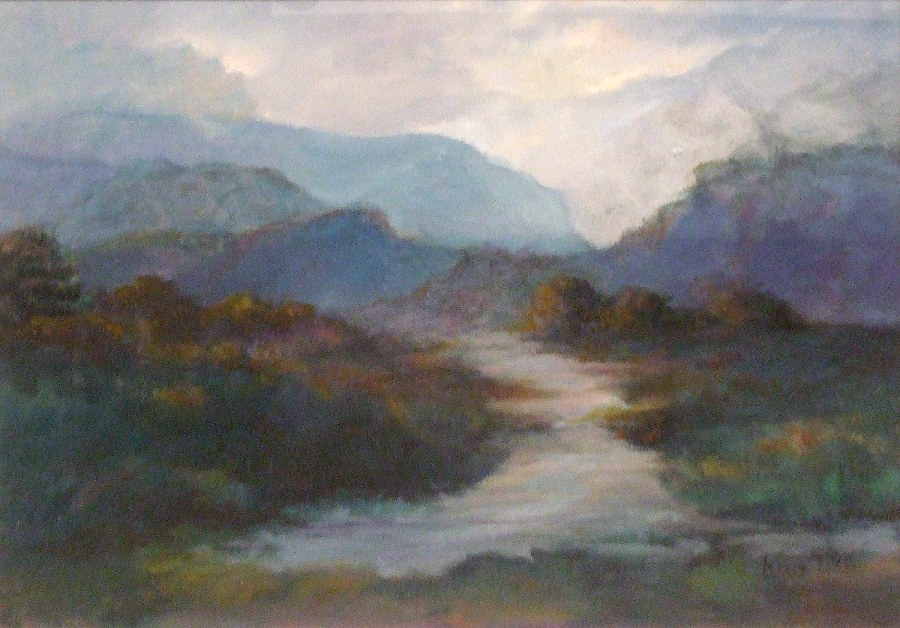 Leonie Lyall: Ranges of Time Oil