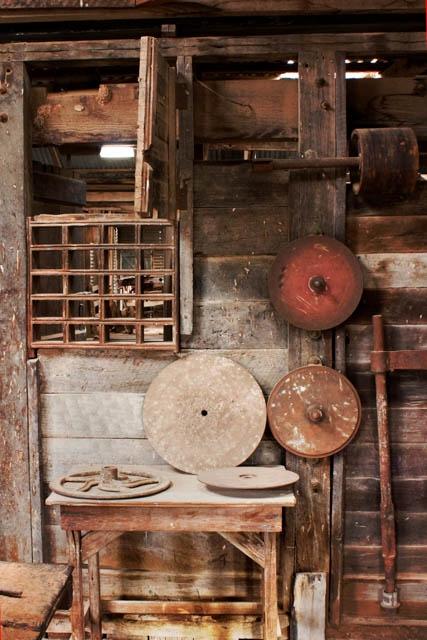 Denis Gallagher: Shearing Shed, Kinchega, Photograph