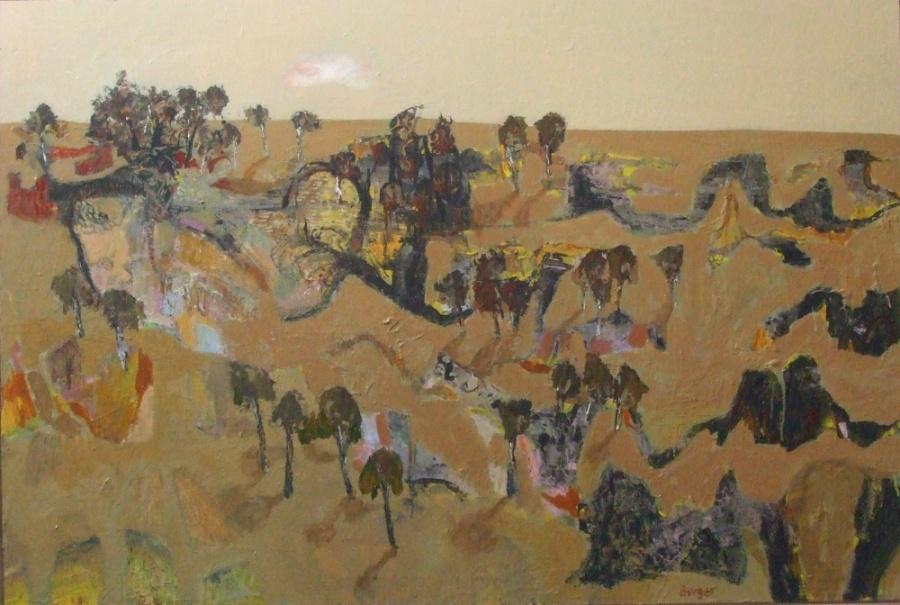 Highly Commended : Euabalong Artist: Peter Burger Medium: Oil