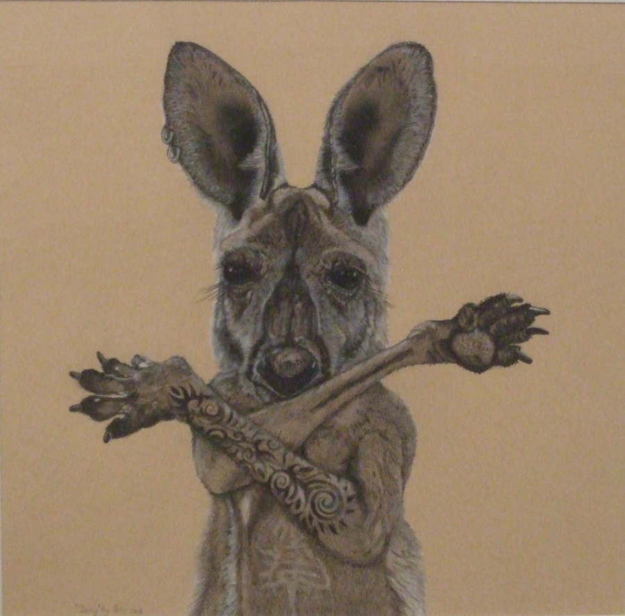 Commended and shared People's Choice: Darcy Artist: Angelika Sassenberg Medium: Pencil