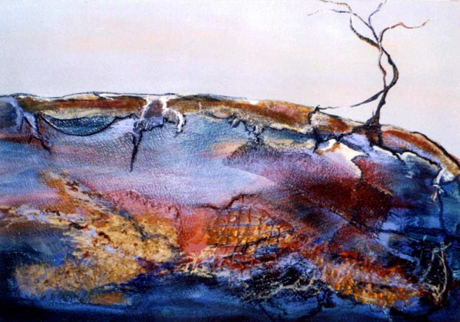 LYN WALKER: MIDNIGHT AT LIZARD ROCK Medium: Acrylic Size: 75cm x 65cm $695 2012
