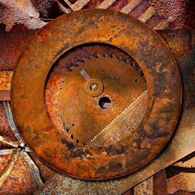 Denis Gallagher: Rust 2, Photograph