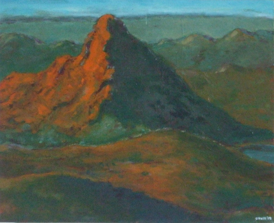 Highly Commended: Morning Arkaroola Artist: Ward O'Neill Medium: Oil