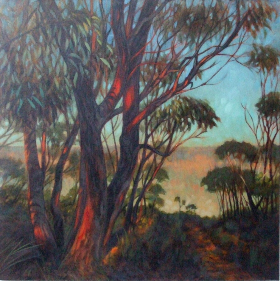Commended: First Light: Sublime Point Reserve Artist: Sanja Zemljacenko Herrmann Medium: Oil