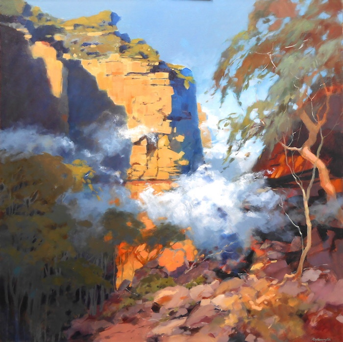 Ray Harrington:  	ESCARPMENT BUSHWALK