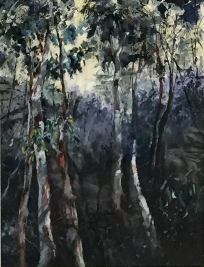 Elizabeth Sayers: Trees Have the Best Views   Acrylic