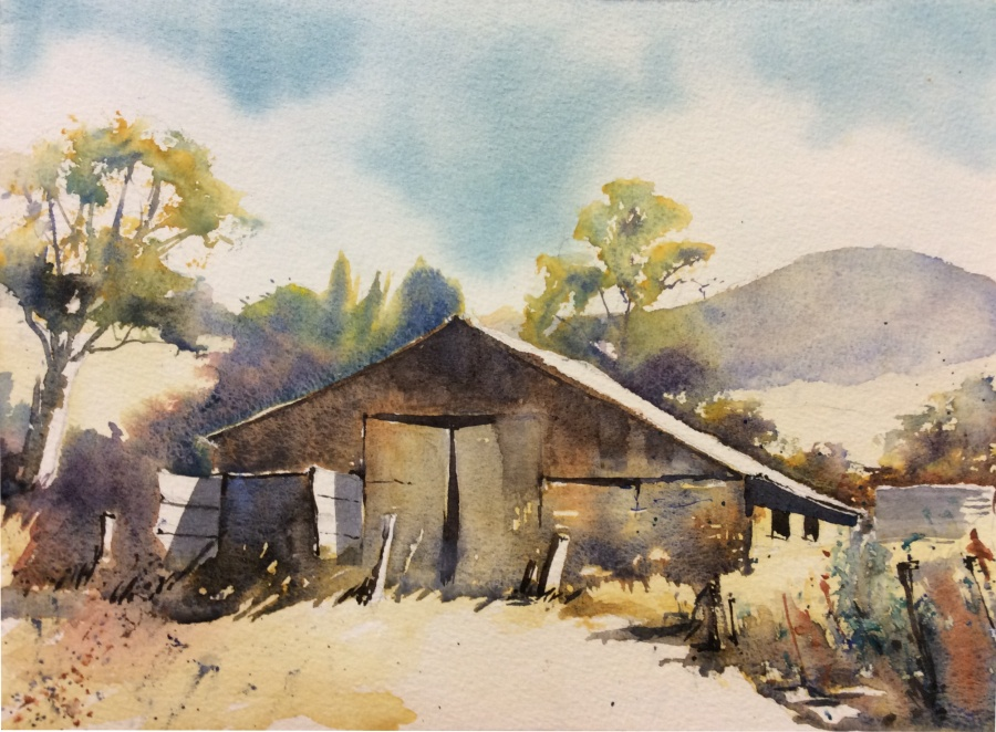 Annie Joseph: Old Shed Tarana Rd	30x40	Watercolour	Jan 2020