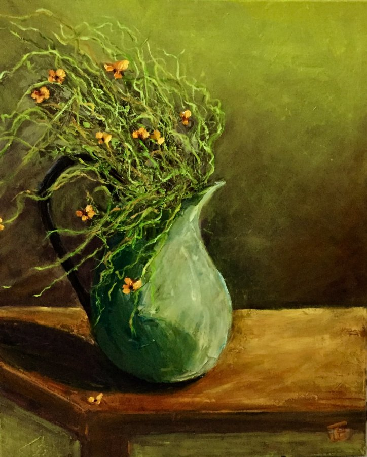 Jennifer Edwards: Unstill Life	Oil on canvas	2020