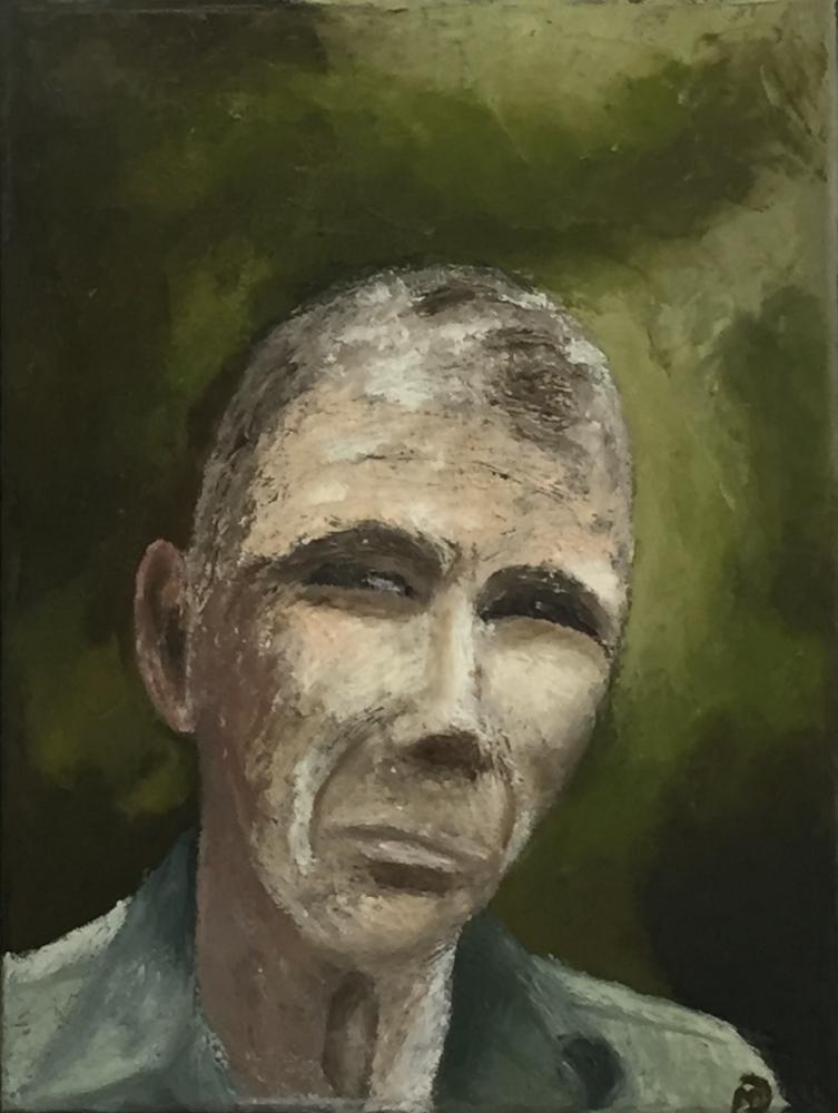 MAEVE DUNNETT:  Mike.  Oil paint