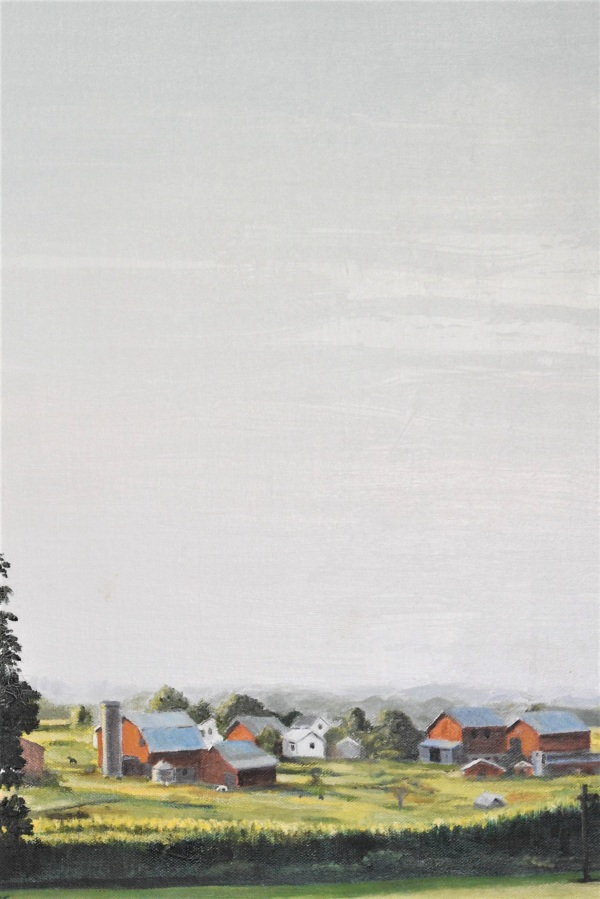 BRUCE GRAY: Amish countryOil on canvas2015