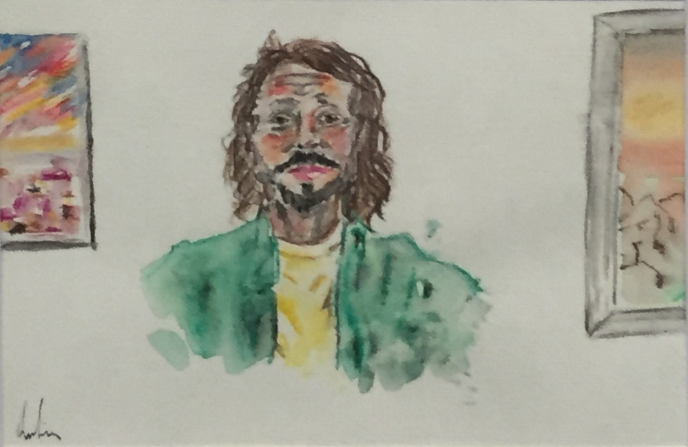 LEE NIASS:  Nothing to say and that's ok.  Watercolour